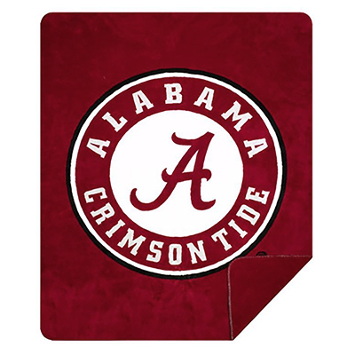 Alabama Denali Microplush Sports Blanket