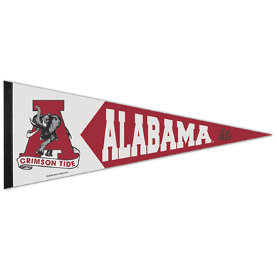 Univeristy Of Alabama Vault Premium Pennant
