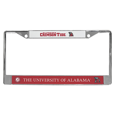 University Of Alabama License Plate Frame