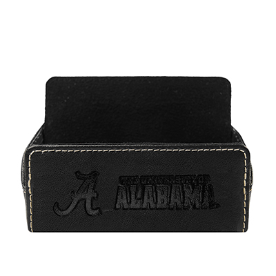 Alabama Leather Desk Card Case