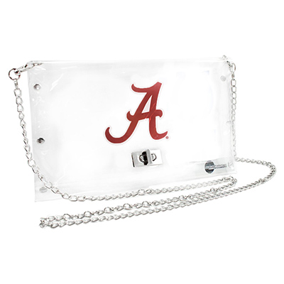 Alabama Clear Envelope Purse