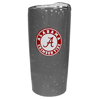 Clearance - Alabama Athletic Seal Speckled Travel Tumbler