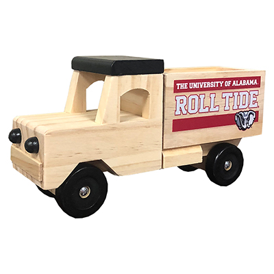 Alabama Wooden Toy Truck