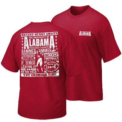 Alabama Discharge Poster T-Shirt