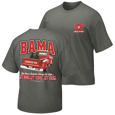 My Dogs. My Truck. My Team Bama T-Shirt
