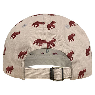 ALABAMA WOMEN'S HAMPTON CAP WITH ELEPHANTS