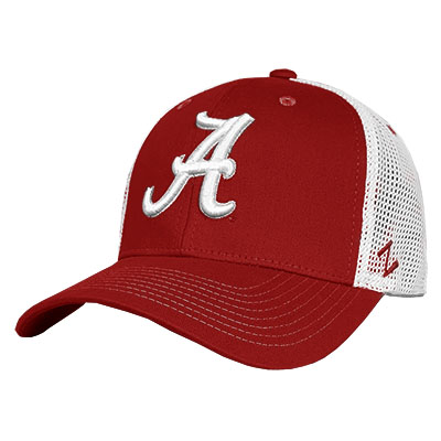 Alabama Courtside Cap With Script A