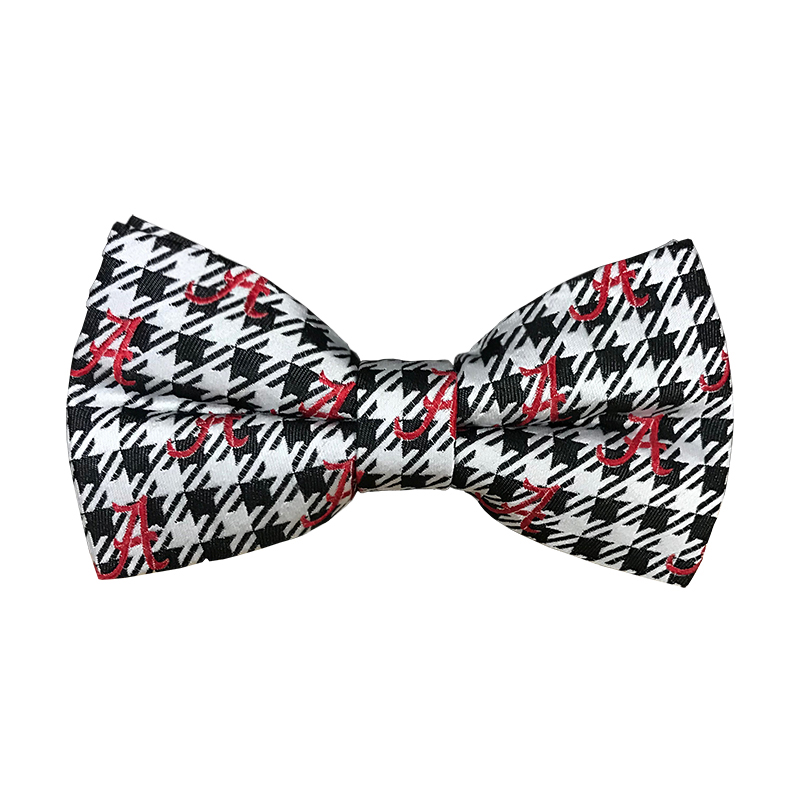Alabama Houndstooth And Script A Bowtie (SKU 13298715116)