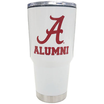 Alabama Alumni With Script A Omega Tumbler