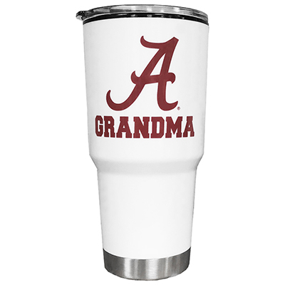 Alabama Grandma With Script A Omega Tumbler