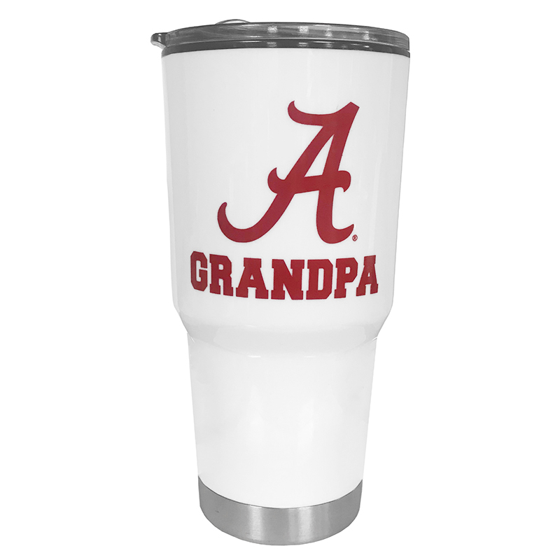 Alabama Grandpa With Script A Omega Tumbler (SKU 1329932372)