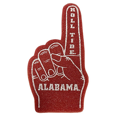 Alabama Mini Foam Hand