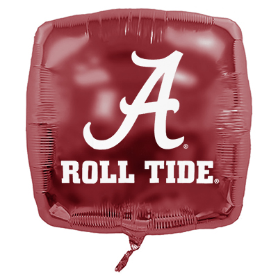 Alabama Roll Tide With Script A Microfoil Balloon