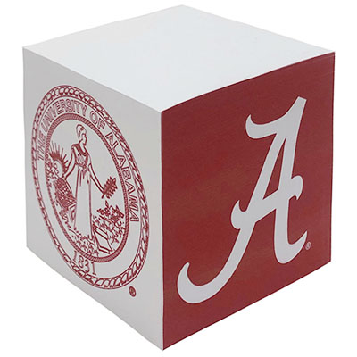 Alabama Full Color Paper Cube