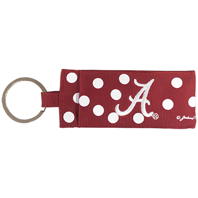 University Of Alabama Keychain With Lipbalm Holder