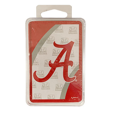 University Of Alabama Script A Playing Cards