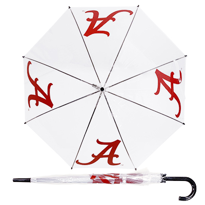 University Of Alabama Script A Clear Umbrella