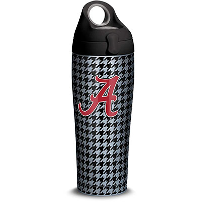 University Of Alabama Houndstooth Water Bottle