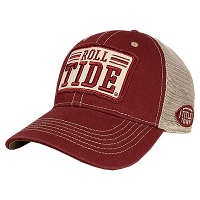 Roll Tide 3D Rectangle Mesh Trucker Cap