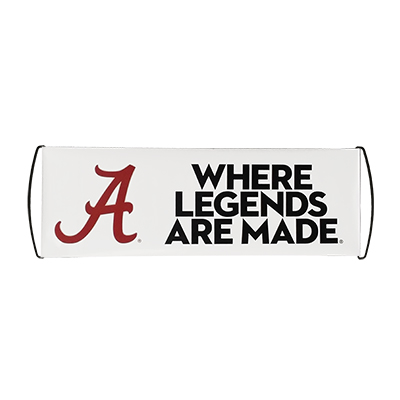 WHERE LEGENDS ARE MADE ROLL TIDE ROLLA BANNER