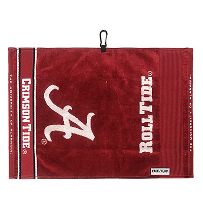 Alabama Face Club Jacquard Towel