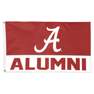 Alabama Alumni Deluxe Flag
