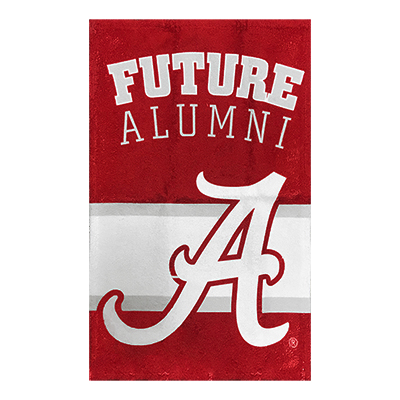 Alabama Future Alumni Baby Burp Cloth