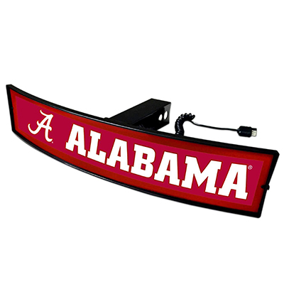 Alabama Light Up Curved Hitch Cover
