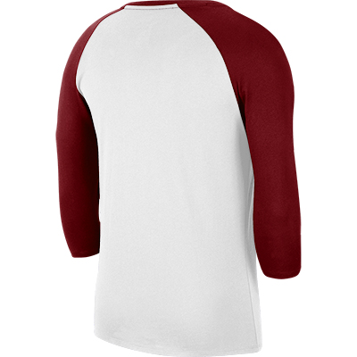 ALABAMA 3/4 SLEEVE DRI-FIT COTTON RAGLAN BASEBALL T-SHIRT