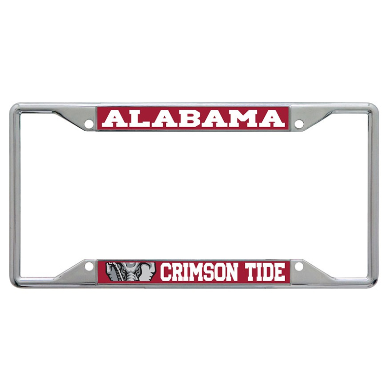 Alabama Crimson Tide Printed License Tag Frame (SKU 1331470539)