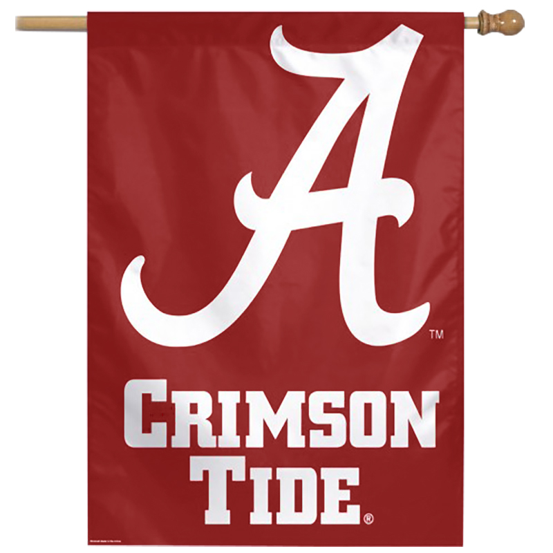 Alabama Crimson Tide Vertical Flag (SKU 1331490324)