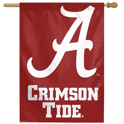 Alabama Crimson Tide Vertical Flag