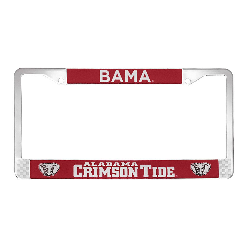 Bama With Crimson  Tide License Plate Frame (SKU 1331529039)
