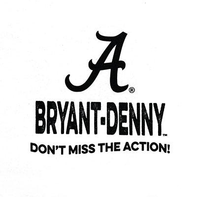 BRYANT DENNY POSTER DESIGN T-SHIRT