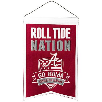Alabama Roll Tide Nation Banner