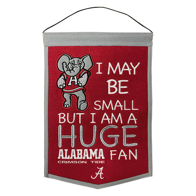 Alabama Little Fan Banner