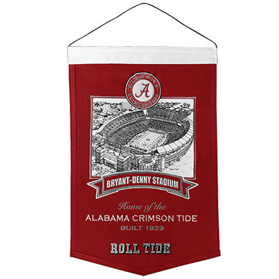 University Of Alabama Bryant Denny Stadium Banner