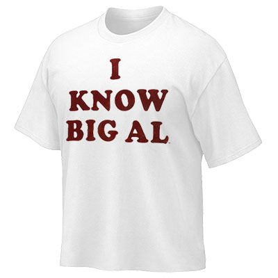 I KNOW BIG AL T-SHIRT