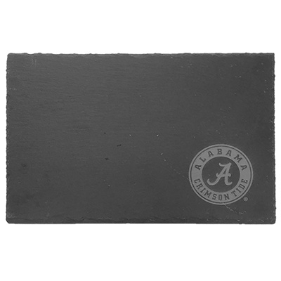 Alabama Circle Logo Slate Serving Tray