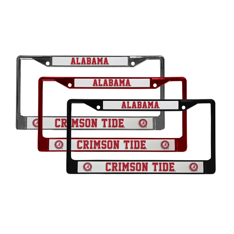 Alabama Crimson Tide Chrome License Tag Frame (SKU 1331604439)