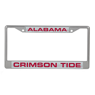 Alabama Crimson Tide Laser Chrome Frame