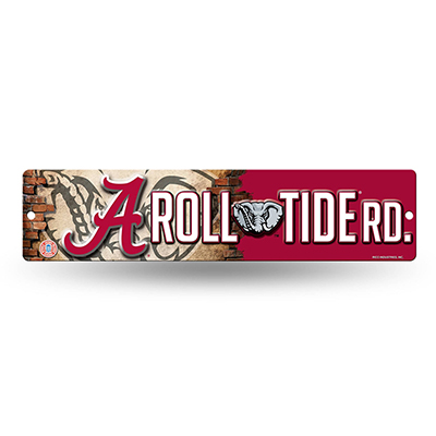 Alabama Roll Tide Road Plastic Street Sign