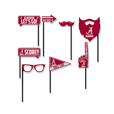 University Of Alabama Selfie Kit Props (Set Of 8)