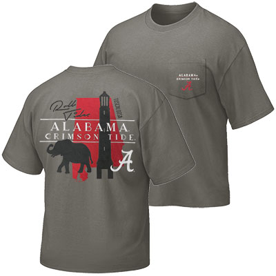 Alabama Crimson Tide T-Shirt With Pocket