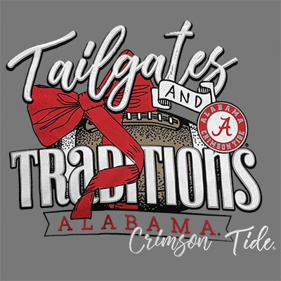 ALABAMA TAILGATES AND TRADITIONS LONG SLEEVE T-SHIRT