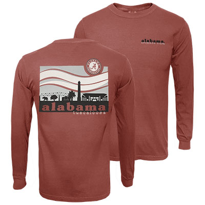 Alabama Landscape Long Sleeve T-Shirt