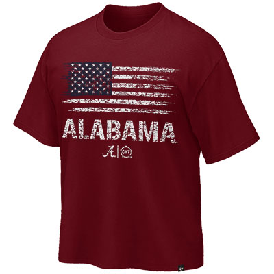 Alabama Honor Flag Operation Hat Trick Super Rival T-Shirt