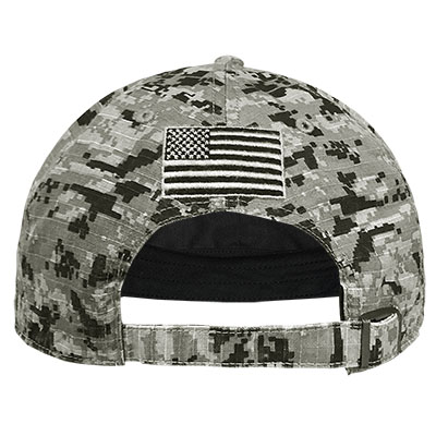 47 BRAND OPERATION HAT TRICK DIGITAL CAMO NILAN SCRIPT A CAP