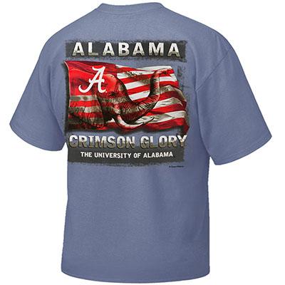 ALABAMA CRIMSON GLORY T-SHIRT WITH POCKET