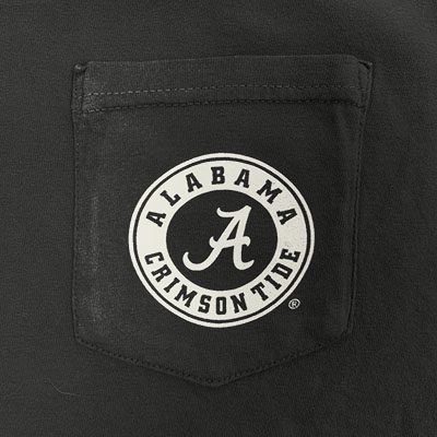 ALABAMA HORIZON ELEPHANT LONG SLEEVE POCKET T-SHIRT